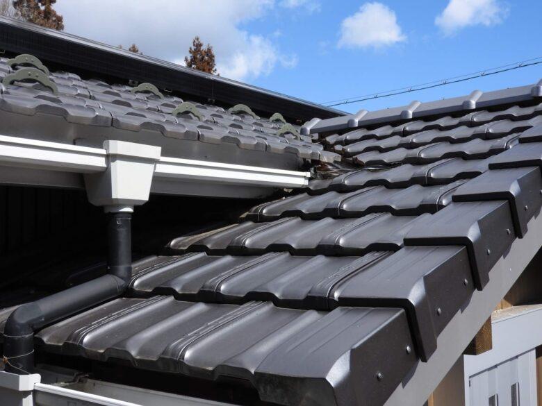 屋根の接合部