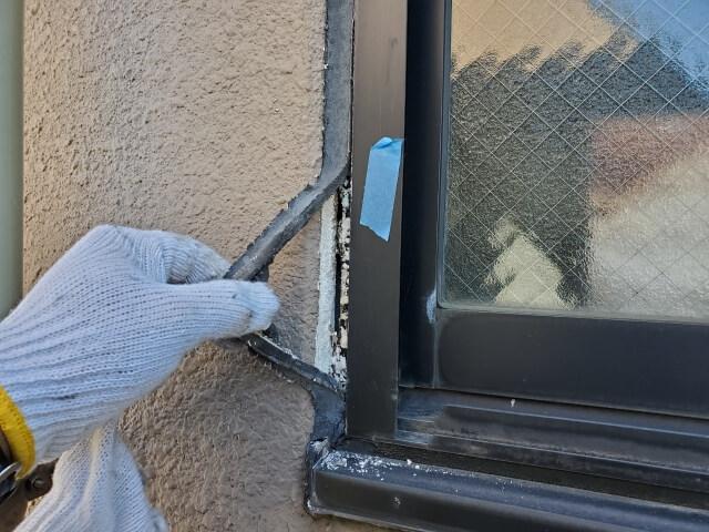 窓の雨漏り